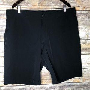 North face men's shorts black hiking swim dual 38